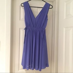 Lavender Grecian Goddess Mini Dress
